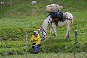 Säumer Trekking-Pause