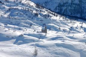 Schnuppertouren mit Schneeschuhen Region Simplon