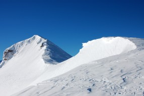 Wanderungen in der Region Simplon mit Schneeschuhen