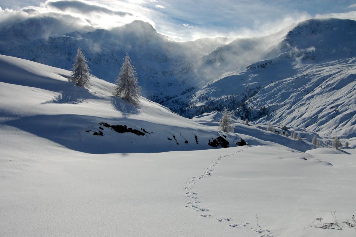 ndividuelle Schneeschuhtouren