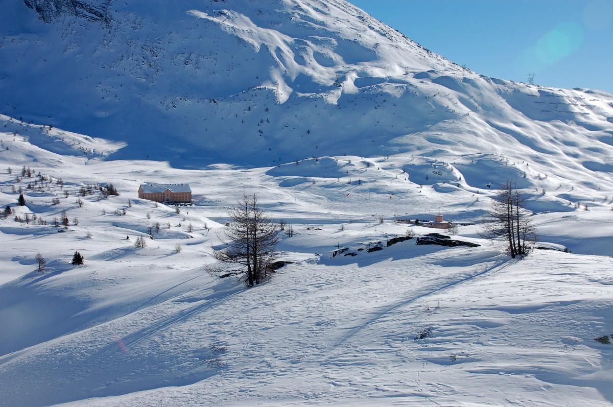 Schneeschuh-Tour Staldhron